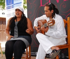 Imagen de la presentación de los Rincones Flamencos de la Villa.